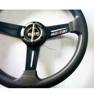 RALLI ART STEERING WHEEL