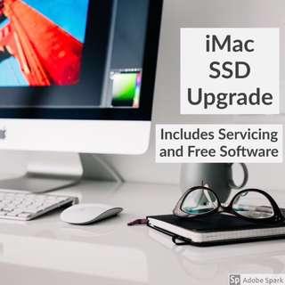 iMac Macbook SSD HDD Upgrade & Servicing
