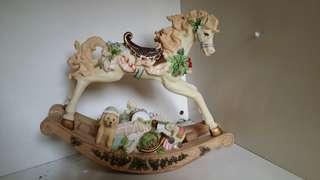 Carousel horse music box MP424 #July70