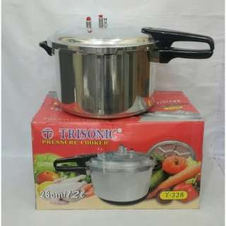 Presto 12 Liter Pressure Cooker Trisonic Anti Karat