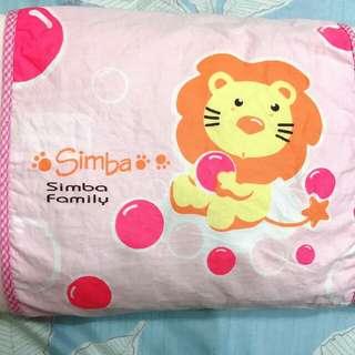 🚚 台灣製,小獅子王辛巴嬰兒枕頭(枕套可拆洗)