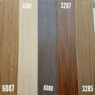 Lantai vinyl lotte 2mm berbagai macam warna