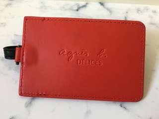 [全新] agnès b Card Holder 證件套