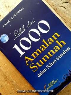 Buku Lebih Dari 1000 Amalan Sunnah dalam Sehari Semalam