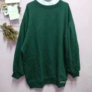 Bershka // Puffy sleeve Oversize Sweater Dress