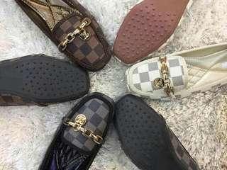 LV inspired dollshoes flats
