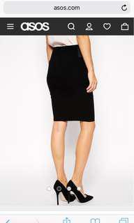 NEW ASOS pencil skirt