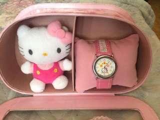 Hello kitty Watch & Mascot Gift