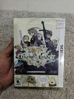 3DS nintendo Game The legend of legacy