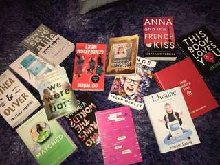 BOOKS SALE - YOUTUBERS & YOUNG ADULT