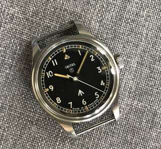 Smiths W10 Vintage Military Watch