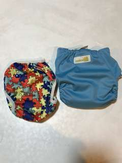 Swimming diapers