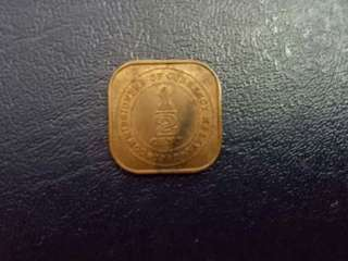 Malaya King George Vi 1940 Half Cent
