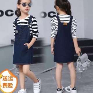 Kids 2in1 Jumper and Blouse - COD