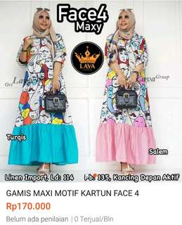 Sale new gamis face