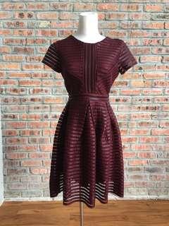 Romeo & Juliet Red Short Dress