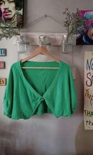 Green short outer