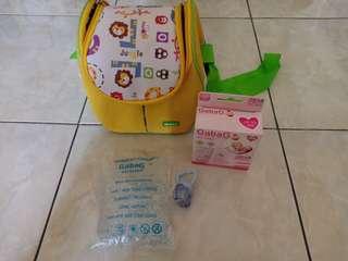 Cooler bag + breastmilk storage