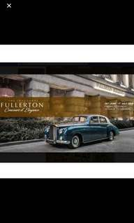 Fullerton Concours d'Elegance Gold Tickets