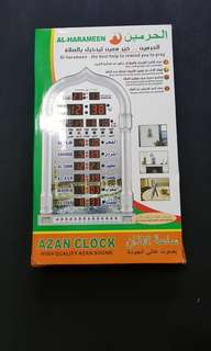 Al-Harameen azan clock high quality azan clock
