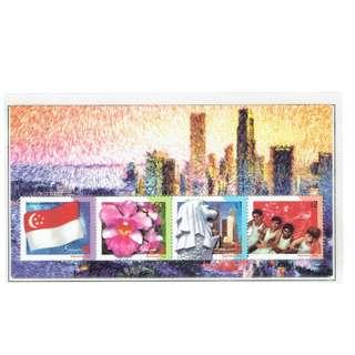 2003 04  Miniature Sheet    National Day 2003