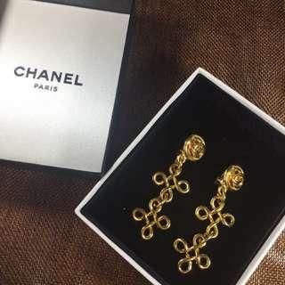 Chanel Vintage Clip earrings - Chanel 復古夾耳環
