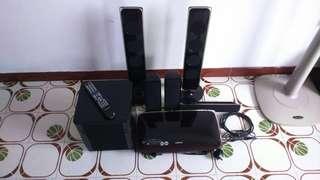 Samsung Speaker + DVD Player