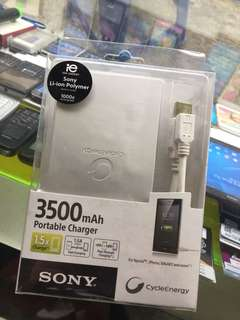 Sony Power Bank 3500 original 100%