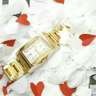 👉CAKEP - BVLGARI Rectanguler Gold #d2e