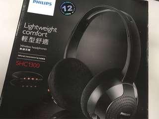Philips SHC1300 紅外線冇線耳機