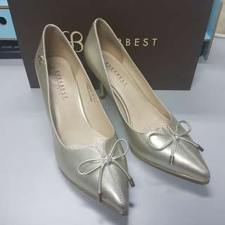 Light Gold EVERBEST Shoes