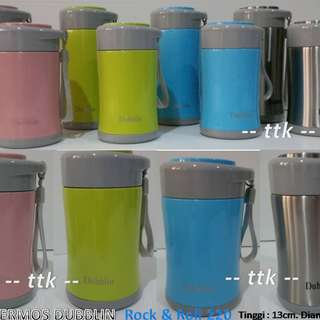 TERMOS DUBBLIN ROCK & ROLL 220 / THERMOS / BOTOL AIR / STAINLESS
