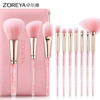 🚚 Liquid filter makeup brush set (10pcs)