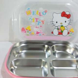 LUNCH BOX STAINLESS / STAINLESS STEEL / SEKAT 4 / BPA FREE / BEKAL