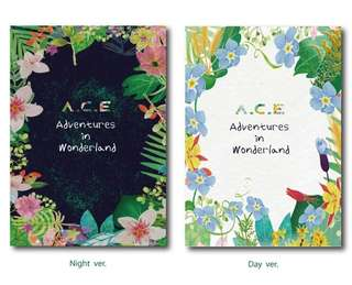 A.C.E Repackage Album - Adventures In Wonderland