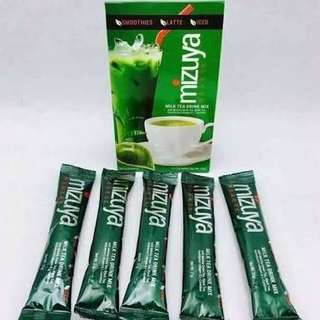Mizuya milk green tea
