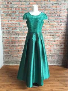 Light Green Long Dress