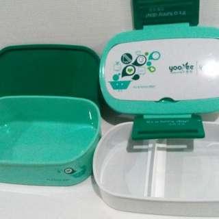 LUNCH BOX SET / YOYEE / TAS BEKAL / TEMPAT MAKAN / BPA FREE / RANTANG