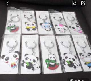 Panda Key Chain each 4 dollar