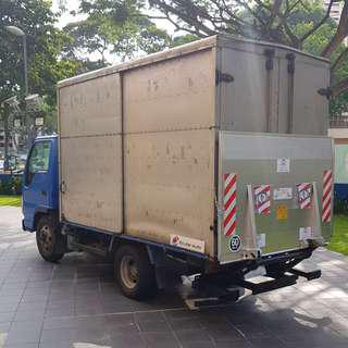 10FT BOX LORRY TAILGATE RENT LEASE