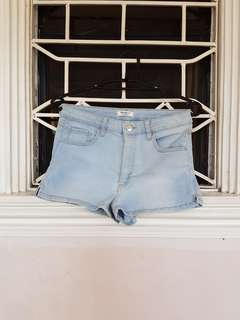 Forever 21 low rise denim shorts