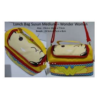 LUNCH BAG SUSUN + YOOYEE MINI / KIDS BENTO / TEMPAT MAKAN / GRID