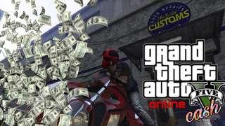 PS4 GTA 5 Online Cash [updated]