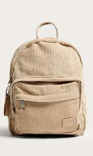 🚚 BNWT UO Corduroy Mini Backpack