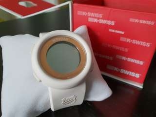 Preloved- K-SWISS White Watch