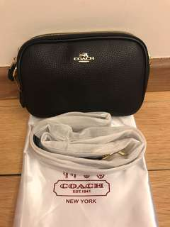 Coach double zip sling bag for let go!!