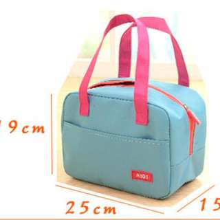 New Korean Lunch & Cooler Bag - Biru
