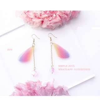 [PreOrder]Pink Series Handmade 925 Silver Earrings A09 A35