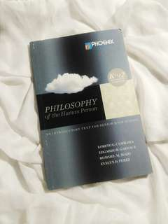 SHS TEXTBOOK: PHILOSOPHY OF A HUMAN PERSON
