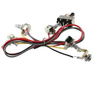 2 VOLUME 2 TONE WIRING HARNESS for Les Paul SG epiphone Gibson ESP PRS Fender Squire suhr ibanez caparison Jackson kramer Tom Anderson yamaha electric guitar
